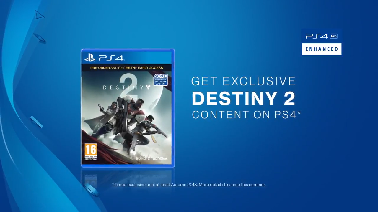PS4 Destiny 2 Exclusives Will Come to Xbox in 2018