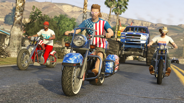 GTA Online Gets 4th July Update