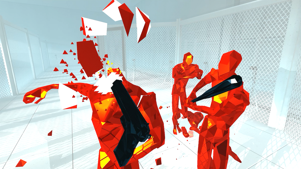 Superhot Coming to PS4 and PSVR