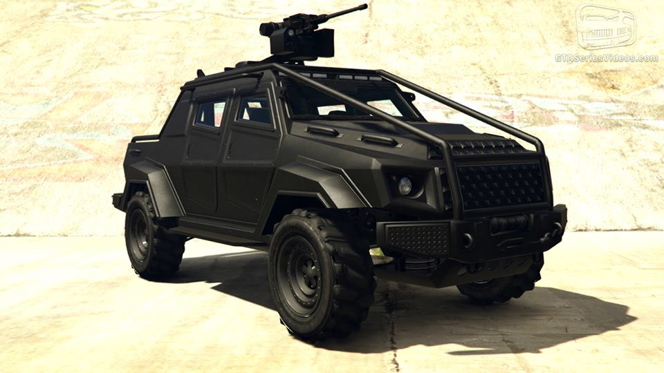 Brand New Weaponized Vehicle Added to GTA Online