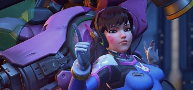 Overwatch: D.Va To Get a Big Rework