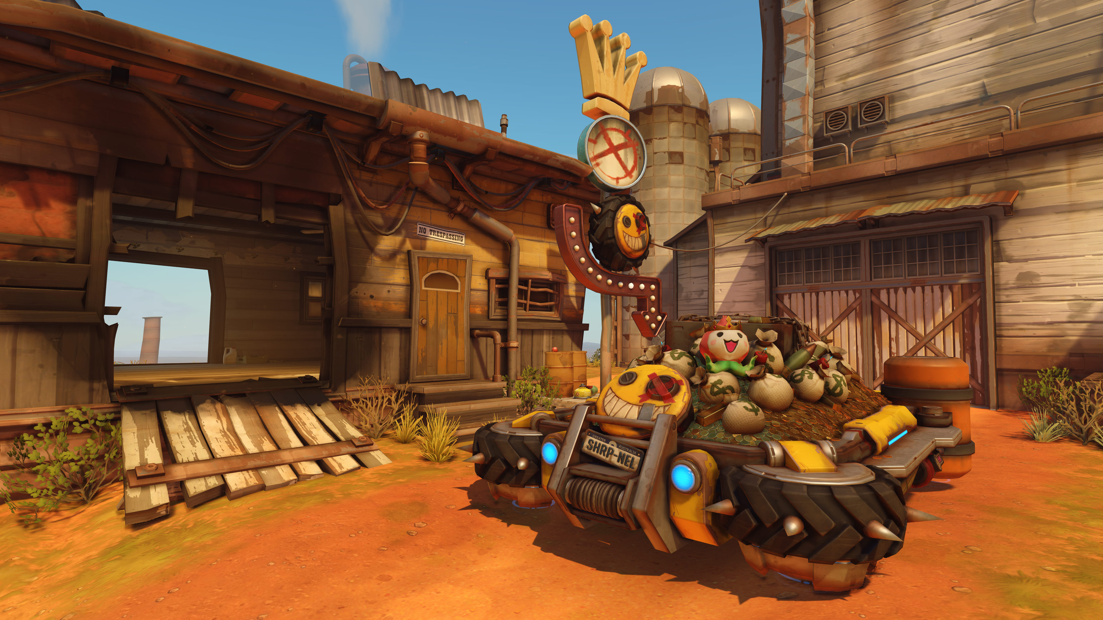 New Overwatch Map, Junkertown Announced
