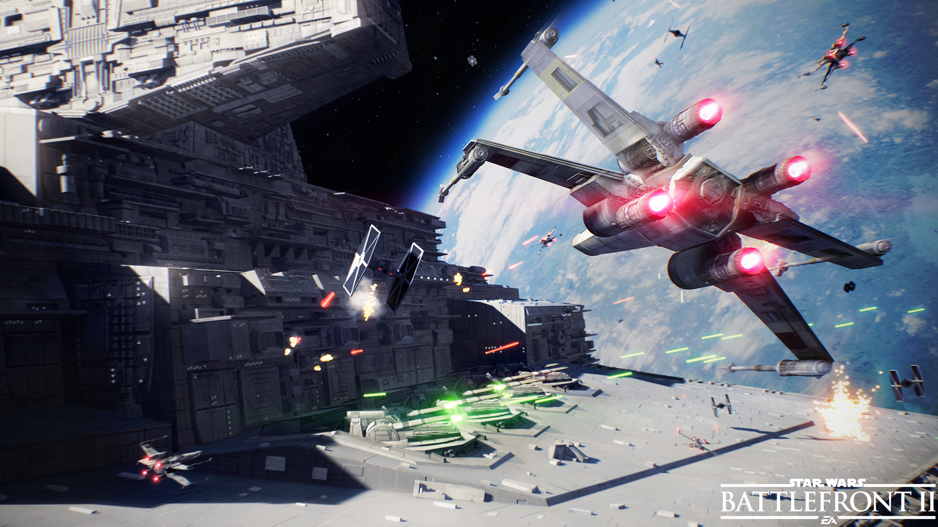 Star Wars Battlefront 2 Gets Space Battle Trailer