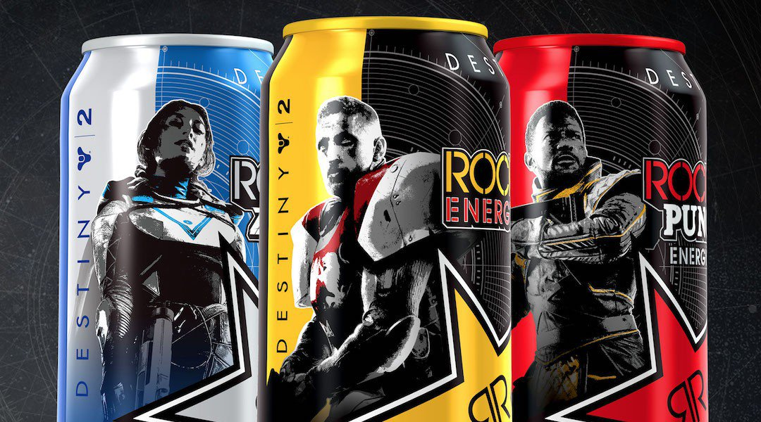 Rockstar Energy Teamed Up With Bungie To Offer Destiny 2 Loot