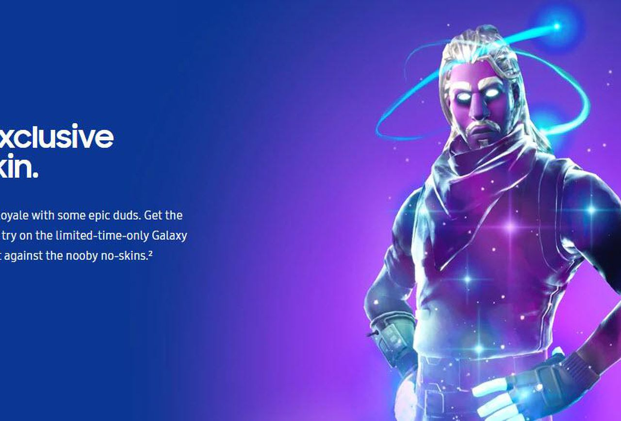 how to get galaxy skin
