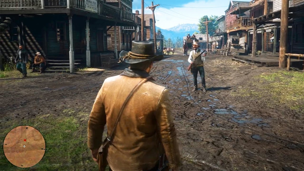 New Red Dead Redemption 2 Gameplay Trailer Shown